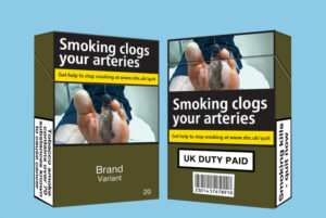 English High Court rules that all cigarette branding must be removed from packaging